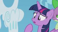 Twilight unsure --of course not-- S5E25