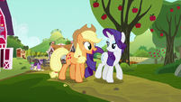Applejack --I can't wait to have a steam-- S6E10
