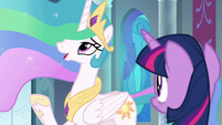 Celestia -busy with my magic lessons- S8E7