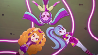 Dazzlings lying in the neon garden EGDS48