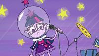Drawn Twilight wearing a space helmet EGS1