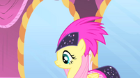 Fluttershy and her headdress S1E20
