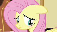 Fluttershy blushes with embarrassment S5E21