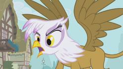 Gilda berating Fluttershy S1E05