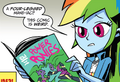 MLP Annual 2014 Rainbow reading.png