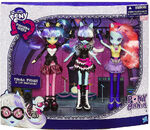 Photo Finish and the Snapshots Equestria Girls Ponymania set