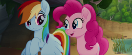 "Pinkie Pie ""graceful for their size"" MLPTM"