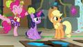 Pinkie Pie congratulates Twilight Sparkle S7E2.png