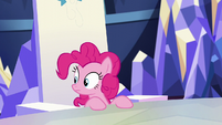 Pinkie hears Applejack S5E11
