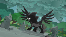 Pony of Shadows is released from limbo S7E25