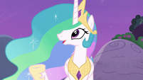 "Princess Celestia ""throw a party in the castle"" S7E1"