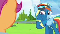 "Rainbow Dash ""a little bit... embarrassing"" S7E7"