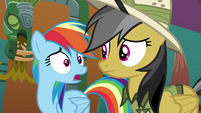Rainbow Dash --how are we gonna get out-- S6E13