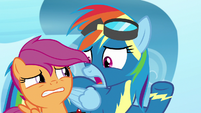 Rainbow Dash -not just shown up!- S7E7
