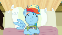 Rainbow Dash loves reading S2E16