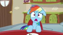 Rainbow Dash utterly aghast S6E11