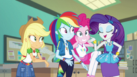 """Rarity """"everyone's bound to look adorable"""" EGFF"""