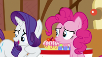 Rarity --you might be able to get her to-- S6E15
