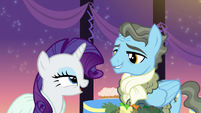 Rarity -A gentlepony with fabulous taste in colognes and scarves-- S5E15