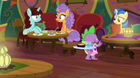 """Spike """"only order spicy if you can take it"""" S9E5"""