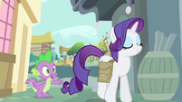 Spike -if she wants you to give all the Apple family carts- S4E23