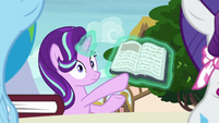 Starlight Glimmer hears Rarity laugh S8E17