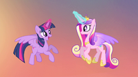 Twilight 'Let's get Discord and this flower back home' S4E11