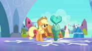 201px-Applejack with fake Crystal Heart S3E1