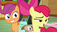 "Apple Bloom ""sure you're not Twilight's sister?"" S9E22"
