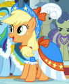 Applejack coronation dress ID S3E13