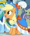 Applejack coronation dress ID S3E13