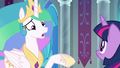 "Celestia ""are you certain it's wise?"" S8E7.png"