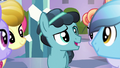 Crystal Hoof talking with Crystal Ponies S6E16.png
