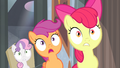 Cutie Mark Crusaders surprised S4E19.png