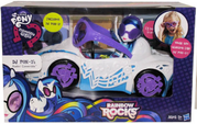 DJ-Pon-3 Vinyl Scratch y Automovil MLP EG RR (Muñeca Carro de juguete y caja)