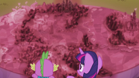 El Mapa Cutie muestra a la mitad de Equestria cubierta de cristal T5E25
