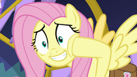 Fluttershy -back then, healers wore masks- S7E20