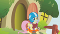 Fluttershy Preparations for the dragon S1E7.png