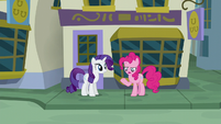 "Pinkie ""instead of trusting somepony else's hooves"" S6E12"