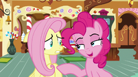 Pinkie -that's why nopony expects it- S8E2