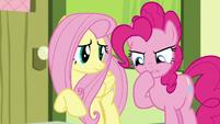 Pinkie Pie in deep concern S8E12