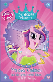 Portada de Princess Cadance and the Spring Hearts Garden