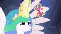 Princess Celestia with the Element of Magic S4E2