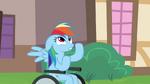 Rainbow Dash Wheelchair Outside 2 S2E16