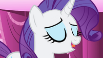 "Rarity ""when we hear those three little words!"" S4E23"