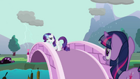 Rarity manipulating rain clouds S03E13