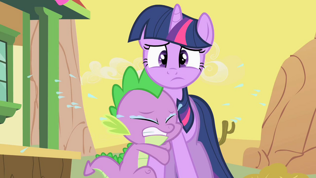 Файл:Spike Crying On Twilight S1E21.png