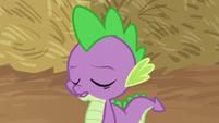 Spike sighing heavily S8E10