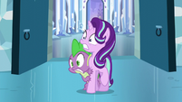Starlight and Spike shocked S6E2
