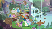 Starlight and friends laughing together S9E11